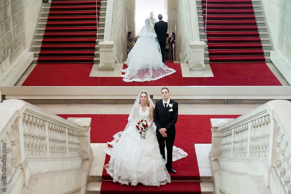 Entre mairie mariage photographe professionnel