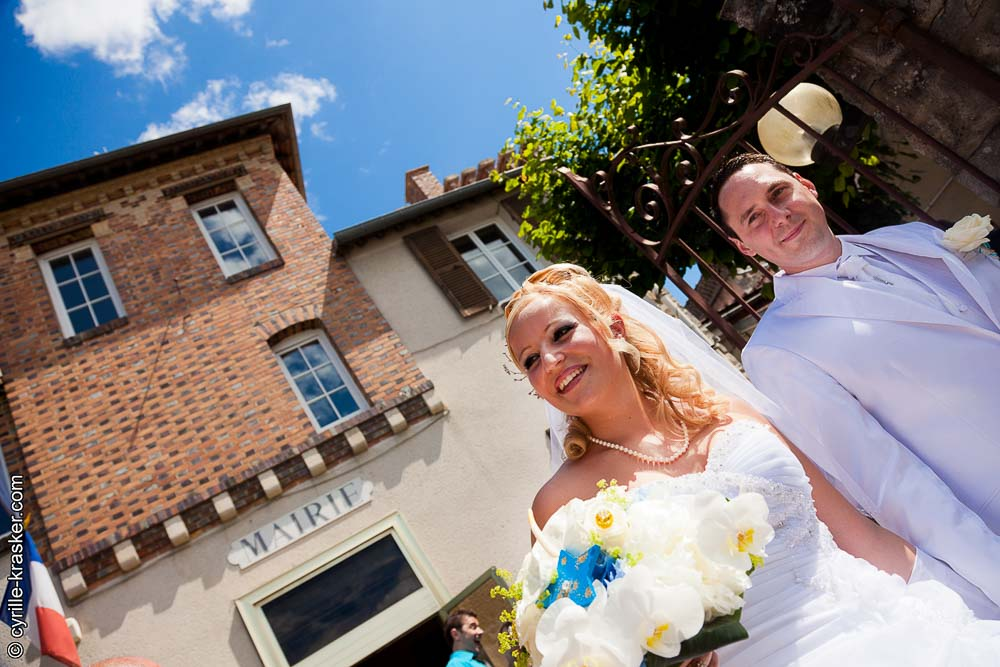 Mairie mariage photographe professionnel couple