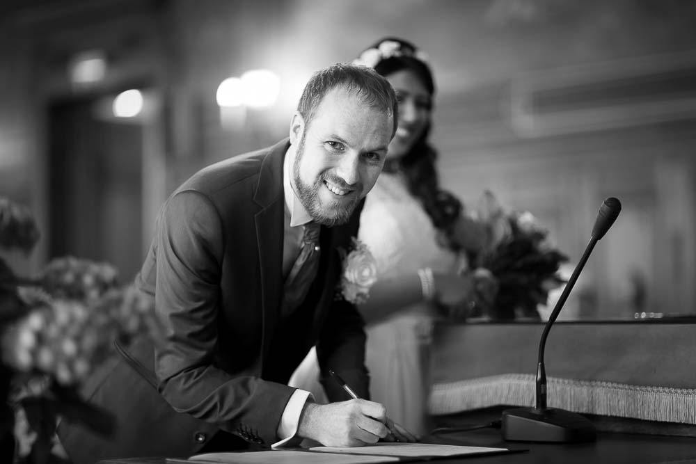 Mariage signature état civil