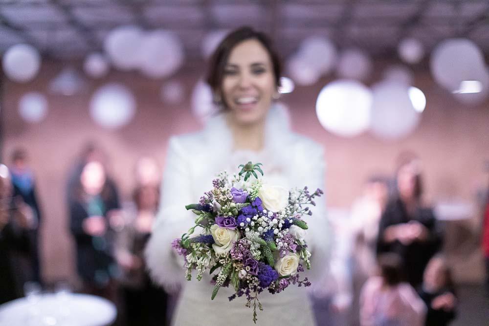 Mariée bouquet mariage