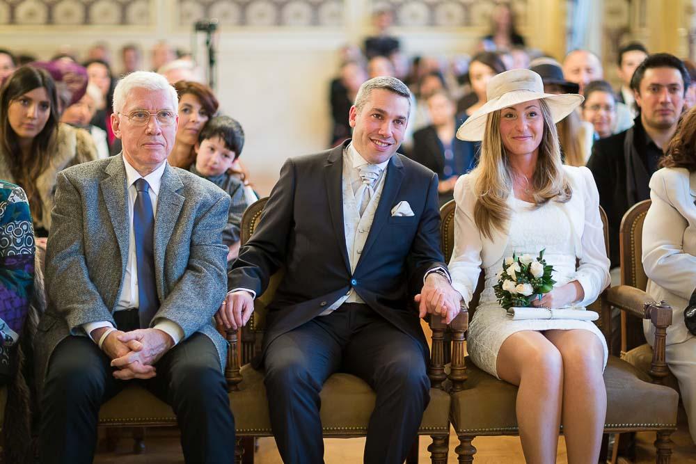 Photographe professionnel mariage mairie