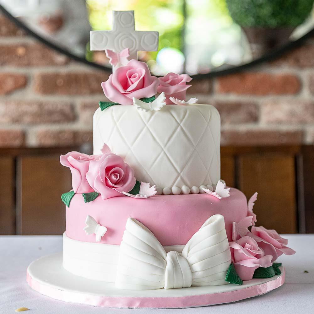 Photographe Baptême gâteau