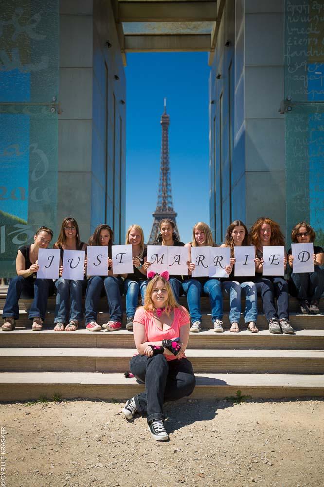 Photographe evjf a Paris