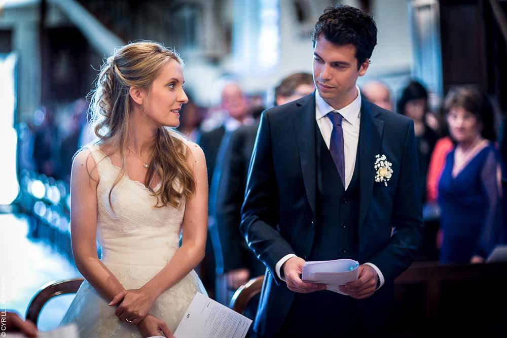 Photographe mariage église catholique