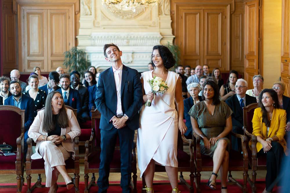 Photographe mariage mairie Paris