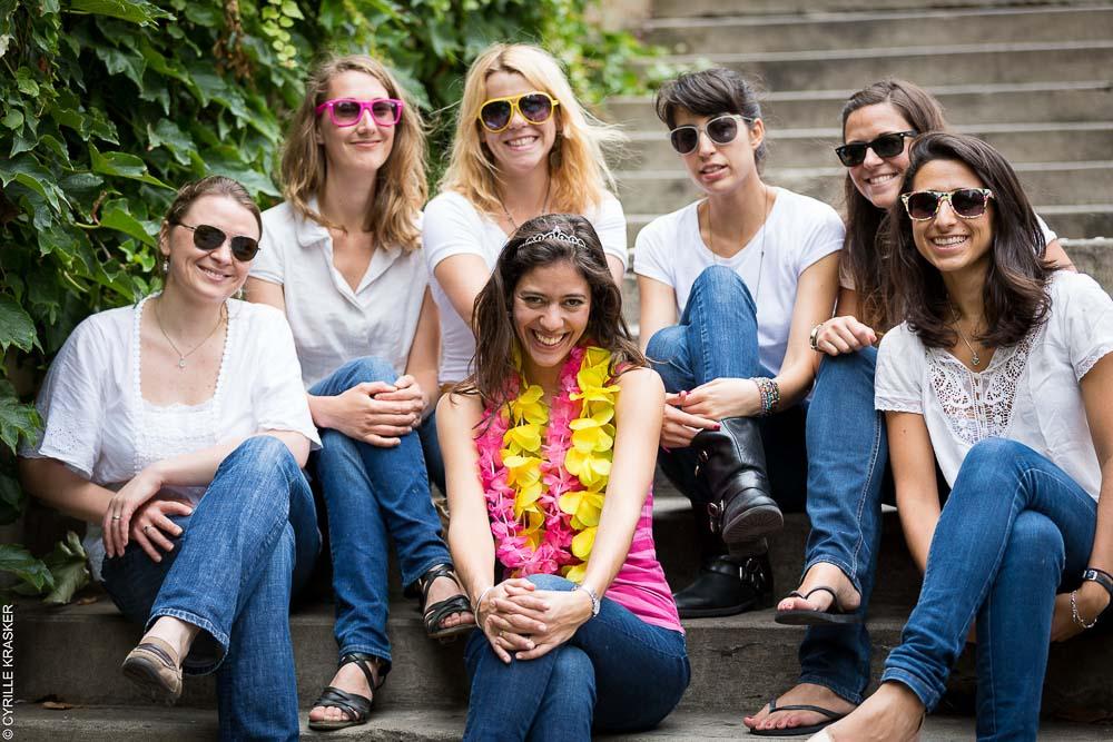 Photographe professionnel EVJF Paris filles
