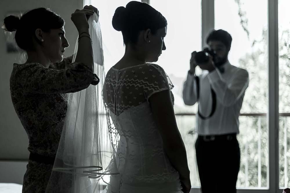 Photographe professionnel a Paris photo reportage préparatifs