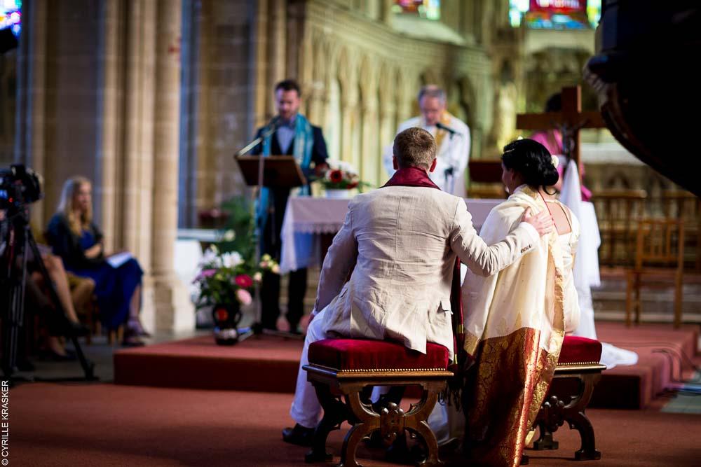 Photographe professionnel mariage Paris Eglise
