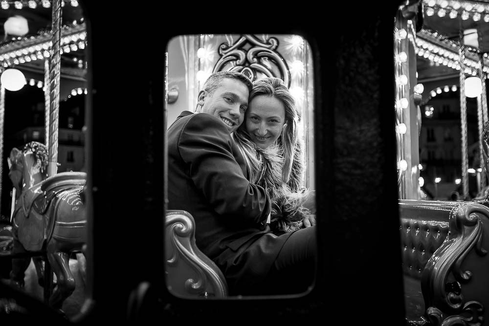 photo séance couple mariage à paris