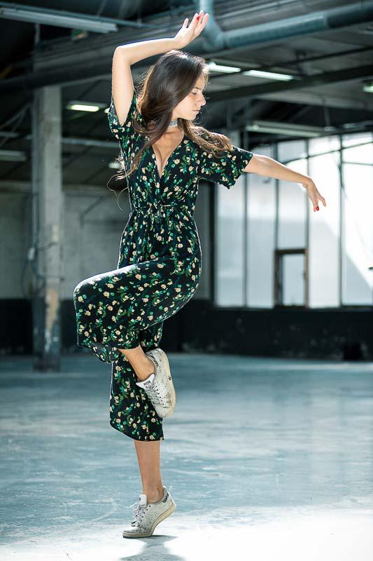 Photographe shooting danseurs