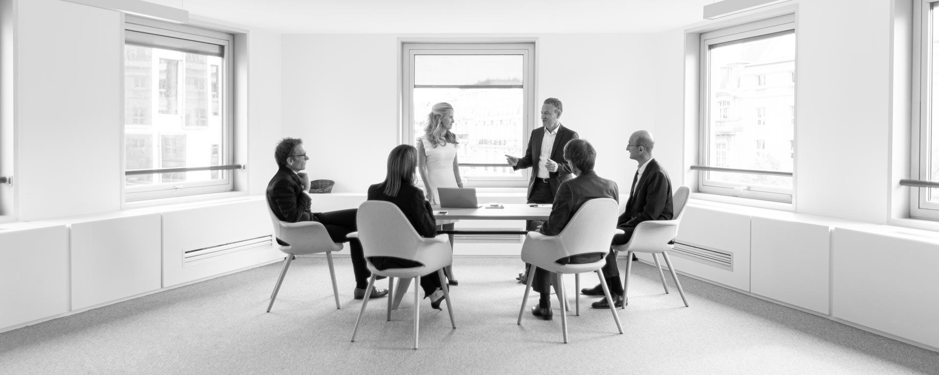 Photographe réunion d'entreprise