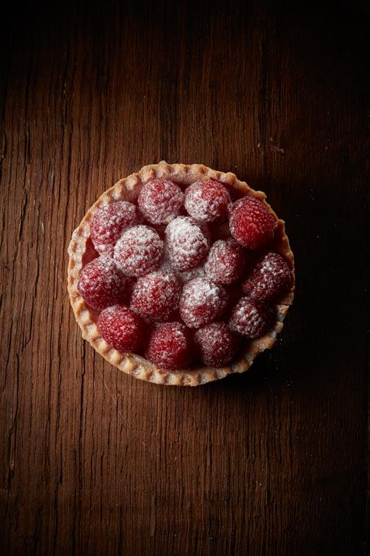 Photographe culinaire gâteau