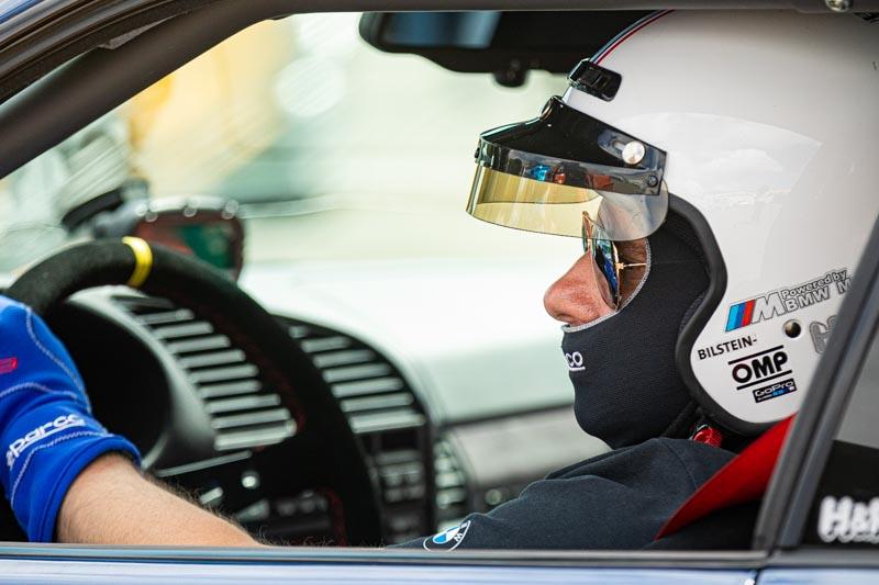 Photographe pilote automobile