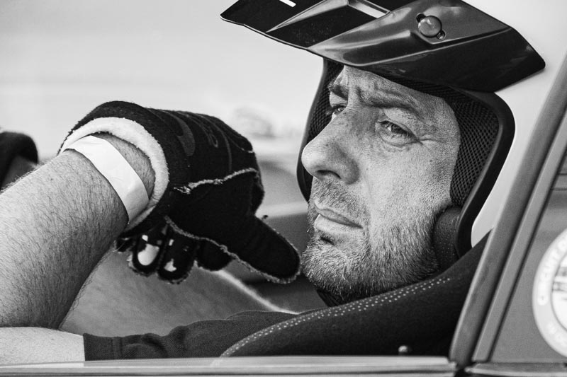 Photographe sport automobile pilote