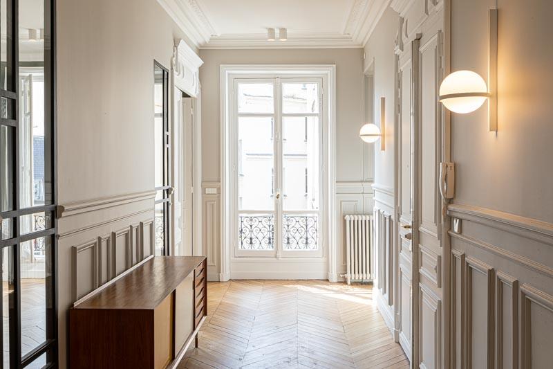 Photographe appartement immobilier luxe à Paris