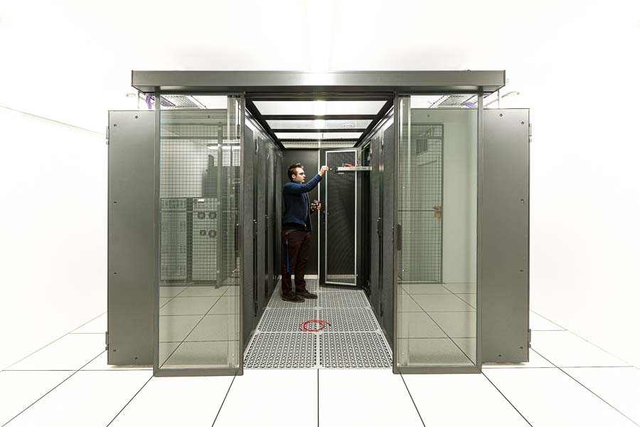 Photographe industriel data center