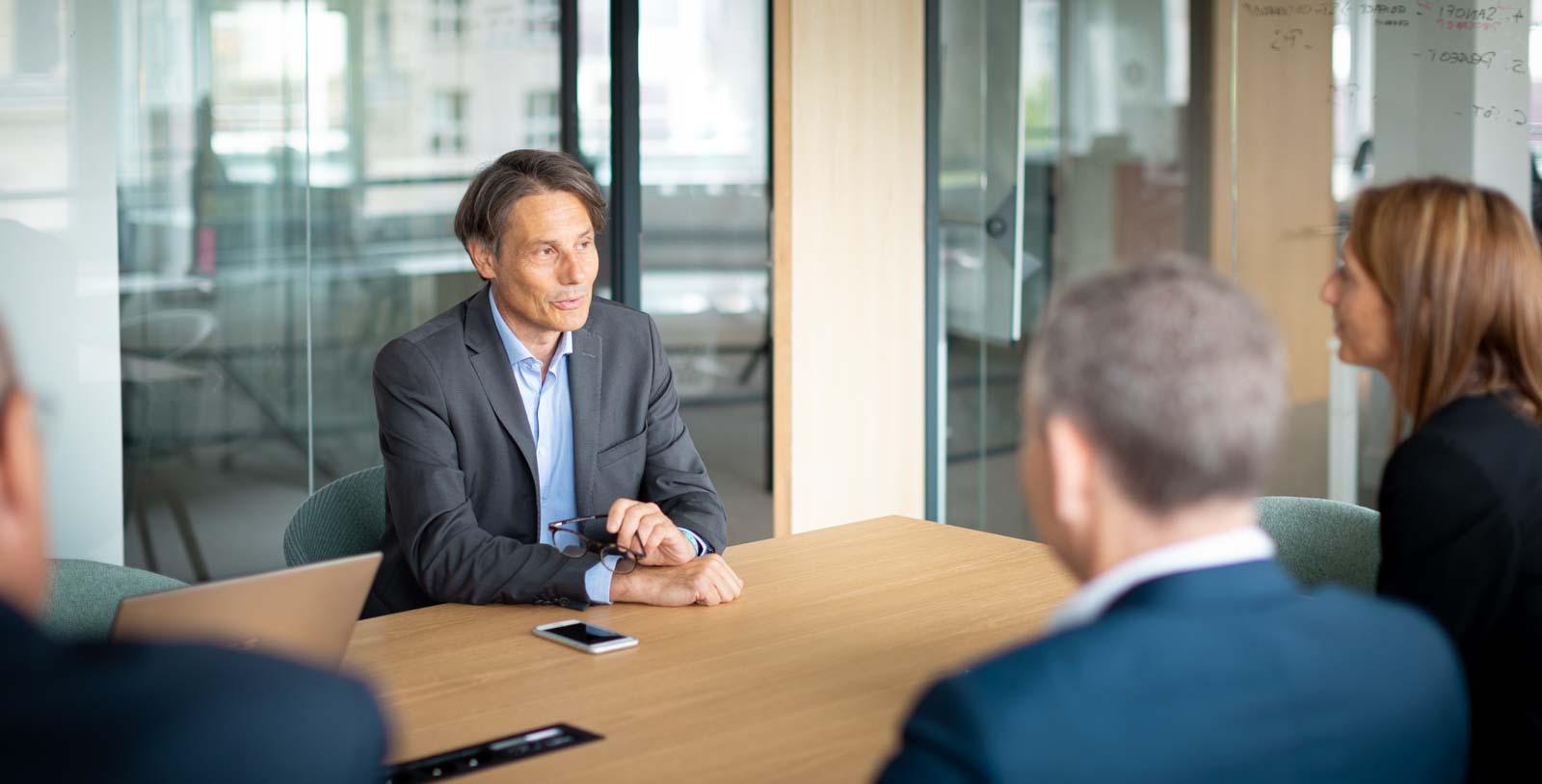 Portrait dirigeant entreprise