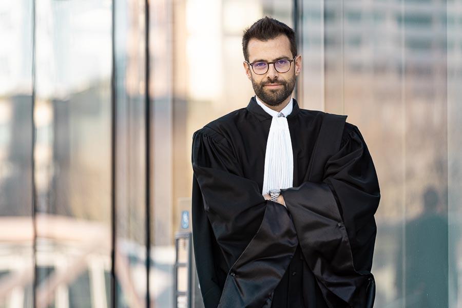Photo portrait professionnel avocat